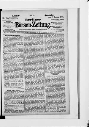 Berliner Börsen-Zeitung on Jan 8, 1887