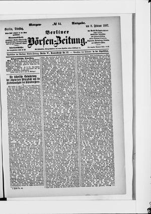 Berliner Börsen-Zeitung vom 08.02.1887