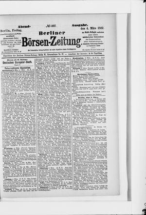 Berliner Börsen-Zeitung vom 04.03.1887