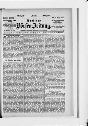 Berliner Börsen-Zeitung vom 08.03.1887