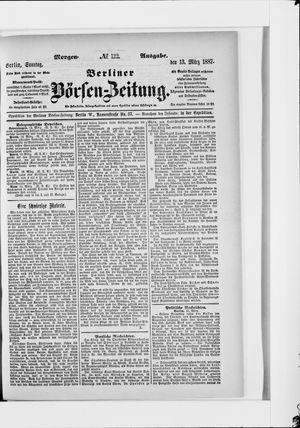 Berliner Börsen-Zeitung vom 13.03.1887