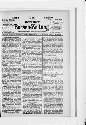Berliner Börsen-Zeitung vom 14.03.1887