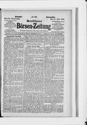 Berliner Börsenzeitung (17.03.1887)