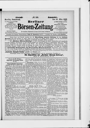 Berliner Börsen-Zeitung vom 19.03.1887