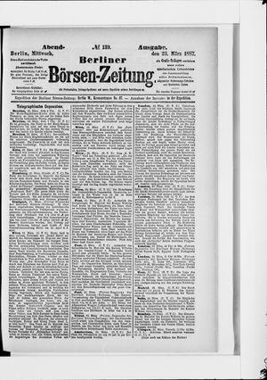 Berliner Börsen-Zeitung vom 23.03.1887