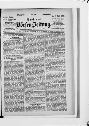 Berliner Börsen-Zeitung vom 08.04.1887