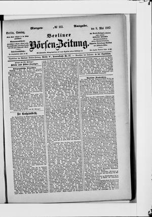 Berliner Börsen-Zeitung vom 08.05.1887