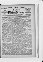 Berliner Börsenzeitung (24.05.1887)