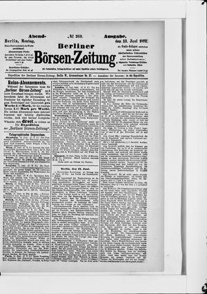 Berliner Börsen-Zeitung vom 13.06.1887
