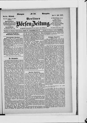 Berliner Börsen-Zeitung vom 06.07.1887