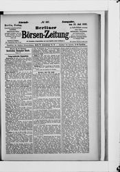 Berliner Börsenzeitung (22.07.1887)