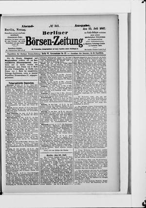 Berliner Börsen-Zeitung vom 25.07.1887