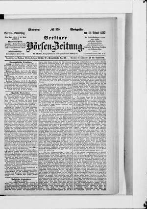 Berliner Börsen-Zeitung vom 11.08.1887