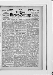 Berliner Börsenzeitung (22.09.1887)