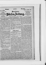 Berliner Börsen-Zeitung (21.10.1887)