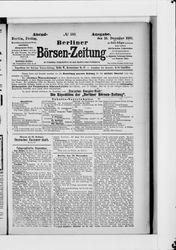 Berliner Börsen-Zeitung (16.12.1887)