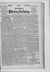Berliner Börsenzeitung (23.05.1888)