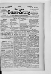 Berliner Börsenzeitung (24.05.1888)