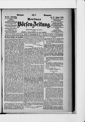 Berliner Börsen-Zeitung vom 17.01.1889