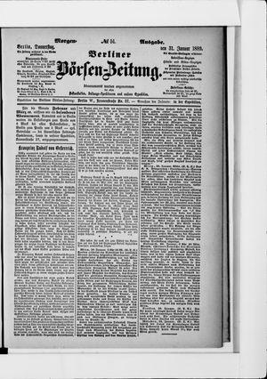 Berliner Börsen-Zeitung on Jan 31, 1889