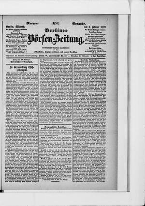 Berliner Börsen-Zeitung vom 06.02.1889