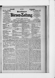 Berliner Börsenzeitung (22.02.1889)