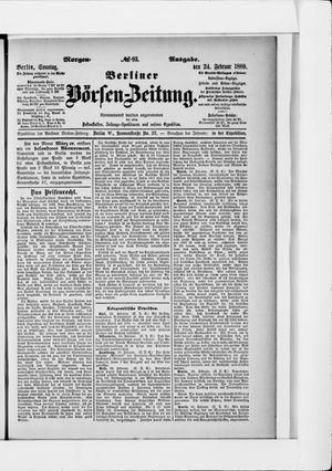 Berliner Börsen-Zeitung on Feb 24, 1889