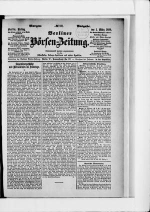 Berliner Börsen-Zeitung vom 01.03.1889