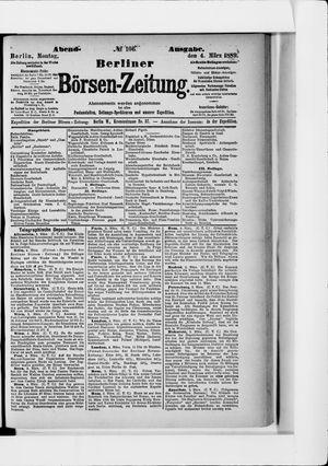 Berliner Börsen-Zeitung vom 04.03.1889