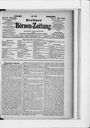 Berliner Börsen-Zeitung vom 05.03.1889
