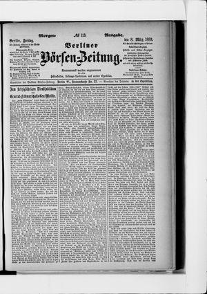Berliner Börsen-Zeitung vom 08.03.1889