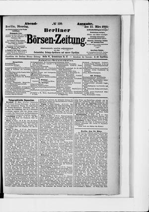 Berliner Börsen-Zeitung vom 12.03.1889