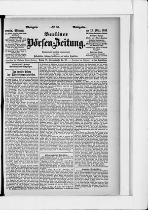 Berliner Börsen-Zeitung on Mar 13, 1889
