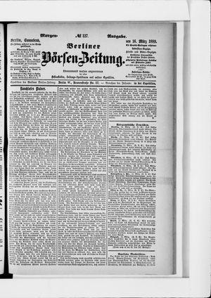 Berliner Börsen-Zeitung vom 16.03.1889