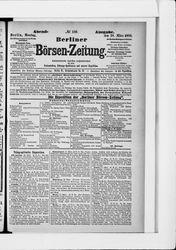 Berliner Börsenzeitung (18.03.1889)