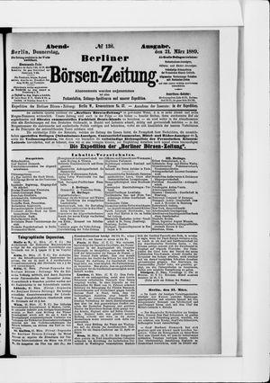 Berliner Börsen-Zeitung vom 21.03.1889