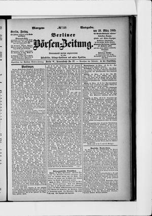 Berliner Börsen-Zeitung vom 29.03.1889