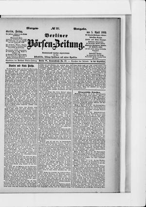 Berliner Börsen-Zeitung vom 05.04.1889