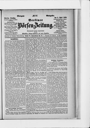 Berliner Börsen-Zeitung vom 09.04.1889