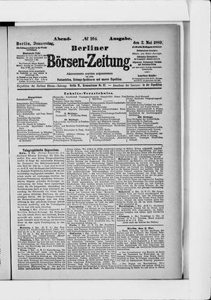 Berliner Börsen-Zeitung vom 02.05.1889
