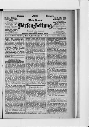 Berliner Börsen-Zeitung vom 08.05.1889