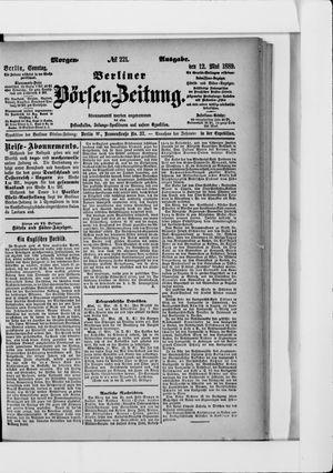 Berliner Börsen-Zeitung on May 12, 1889