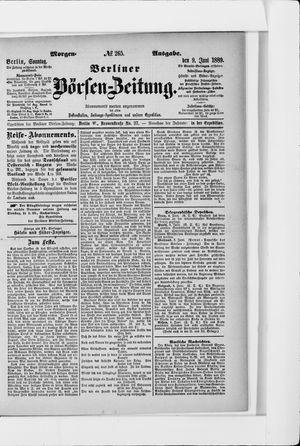 Berliner Börsen-Zeitung on Jun 9, 1889