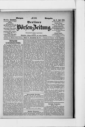 Berliner Börsen-Zeitung vom 06.07.1889