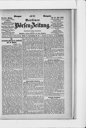 Berliner Börsen-Zeitung on Jul 12, 1889