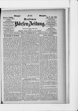 Berliner Börsen-Zeitung on Jul 16, 1889