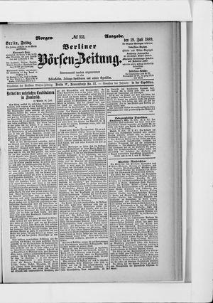 Berliner Börsen-Zeitung on Jul 19, 1889