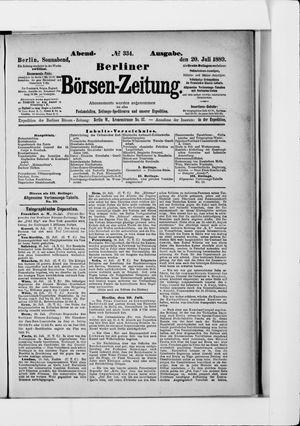 Berliner Börsen-Zeitung on Jul 20, 1889
