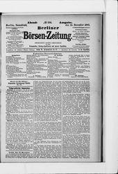 Berliner Börsen-Zeitung (14.12.1889)