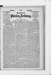 Berliner Börsen-Zeitung (18.12.1889)